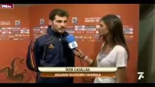 World Cup 2010 Most Shocking Moments 31-Iker and Sara Cabonara