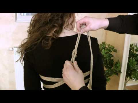 Fesselzeit: Teil 1 - Oberkörperfesselung (видео)