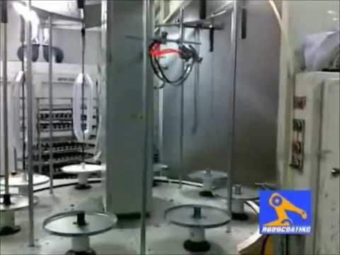 Otomatk Dikey Boyama,Salkım Boyama Makinesi