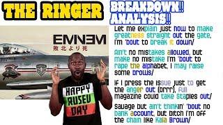 Eminem - The Ringer: Lyrics/Rhymes BREAKDOWN! ANALYSIS! and REACTION