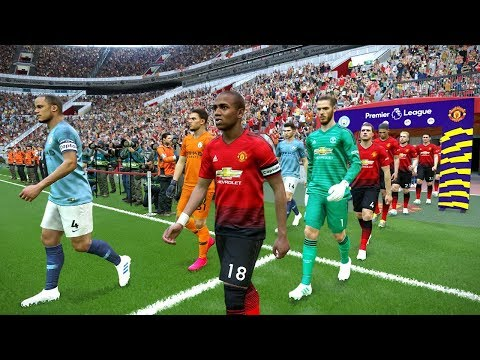 Manchester United Vs Manchester City - EPL 24 April 2019 Gameplay