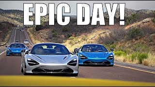 DRIVING THE NEW MCLAREN WITH FRIENDS!! by Supercars of London
