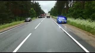 Avārija uz ceļa vairāki cietušie