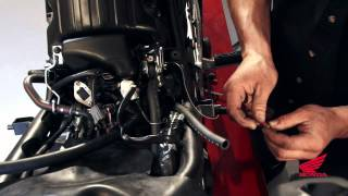 9. CBR250R Race Kit Installation: Installing the Dynojet Fuel Management System