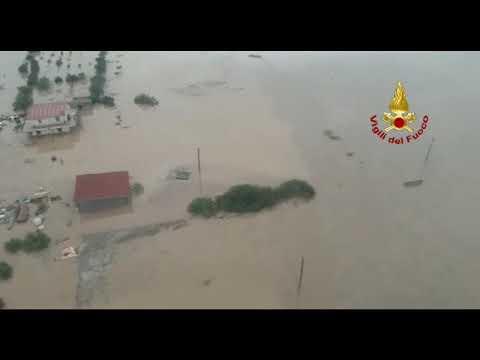 Maltempo, strade inondate Violento nubifragio nella notte