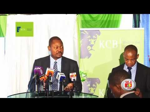 KCB Half year results