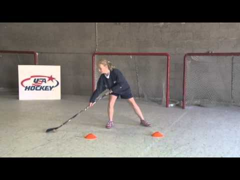 12U Off Ice Puck Handling Figure 8s – Hockey Drills