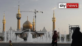 Sky News has been given unprecedented access inside Iran, a deeply conservative nation that is undergoing radical change.
