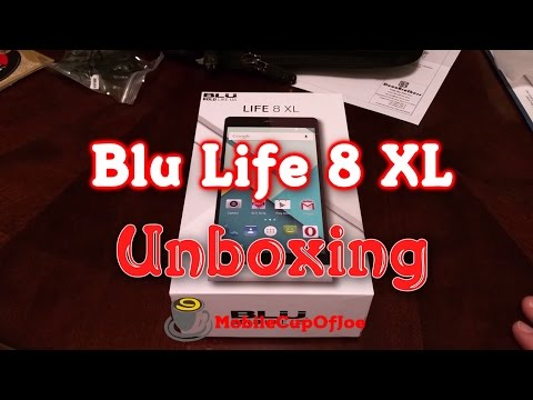 Blu Life 8 XL Unboxing