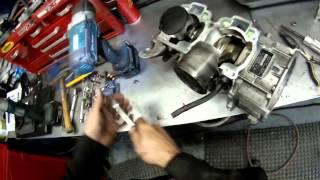 9. Rotax 500ss étape 6   Piston Removal , retrait des pistons
