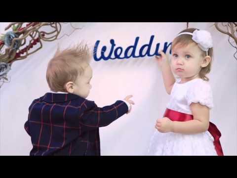Видео Свадебный образ для самых маленьких