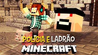 Policia e Ladrão - O Notch Esta Revoltado !! Minecraft c/ Animal Bikes