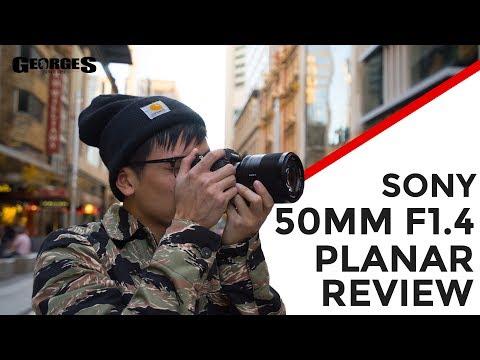 Sony Zeiss Planar T* 50mm f/1.4 ZA Full Frame E-mount Lens video