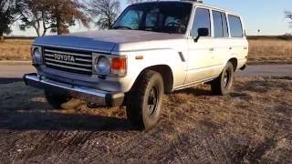 1987 Toyota fj60 5 speed land cruiser