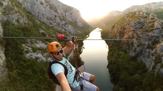 Omis Croatia  City pictures : Omis Croatia 2016 1080p 60fps