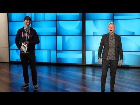 Ellen Auditions for NBC's 'Saturday Night Live'