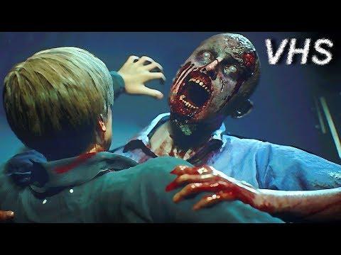 Resident Evil 2 Remake - Геймплей Е3 2018 на русском - VHSник