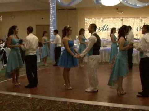 Cotillion Dances-Waltz,Tango, and Salsa