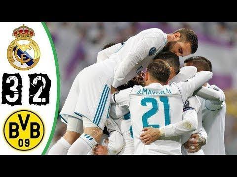 Real Madrid vs Dortmund (3-2) - All Goals & Highlights 06/12/2017 HD