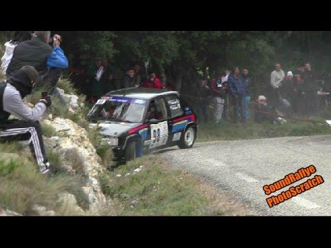 Crash - Rallye des Vins du Gard 2015 [HD]