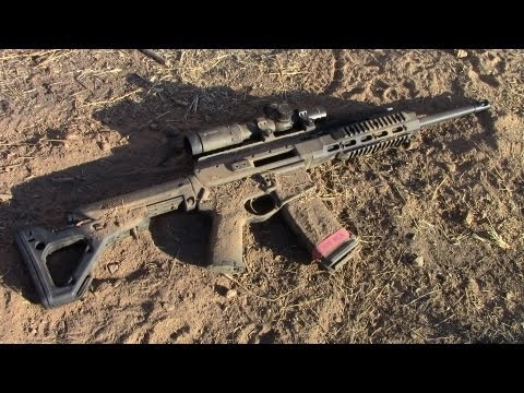 firearms - We do a review, field test, and torture test of the new Faxon Firearms ARAK-21; a hybrid, self-contained, gas piston upper receiver uniting AR-15 and AK-47 f...