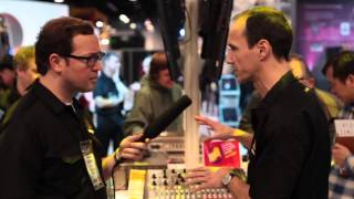 Live from NAMM 2013: BEHRINGER X32 Producer