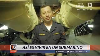Así es vivir en un submarino