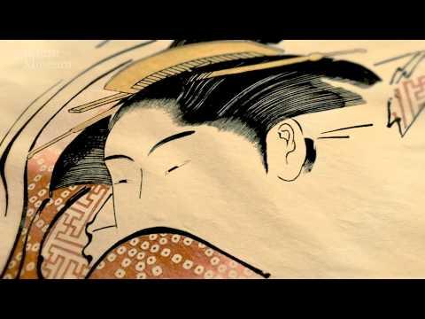 Shunga exhibition at the British Museum (видео)