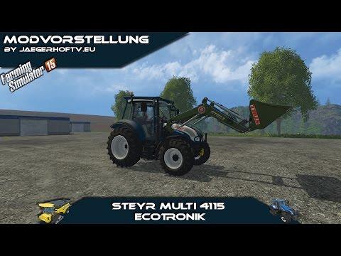 Steyr 4115 Multi ecotronik v3.0 universal