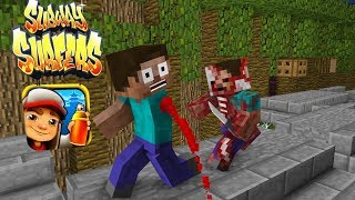 Nonton Monster School  Subway Surfers Zombie Apocalypse   Minecraft Animation Film Subtitle Indonesia Streaming Movie Download