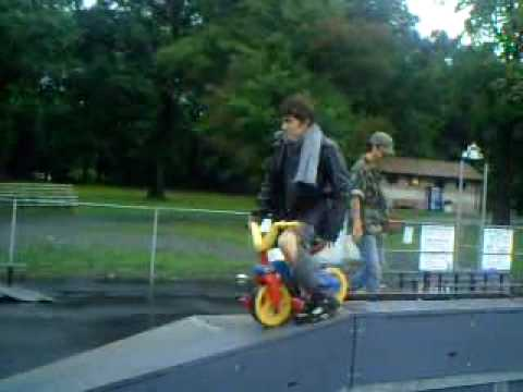 Windber Bandits Raid the Skatepark on a rainy day