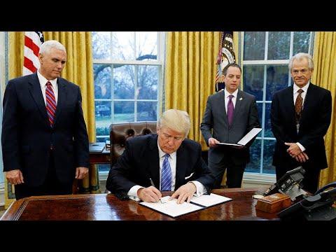 USA: Trump verhängt Strafzölle gegen Mexiko - 5 % ab  ...