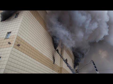 Brand in Einkaufszentrum: Zahl der Toten steigt