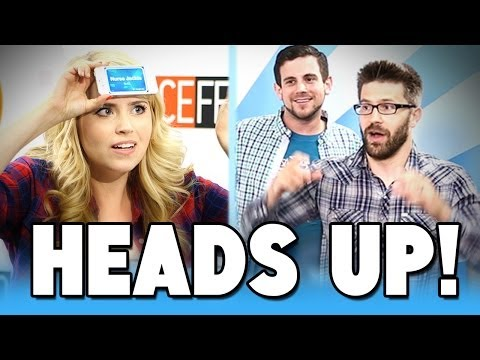 'It's - Steve and Matt take on reigning champions Lee and Joe at Heads Up! GET OUR OFFICIAL APP: http://bit.ly/aIyY0w More stories at: http://www.sourcefed.com Follow us on Twitter: http://twitter...