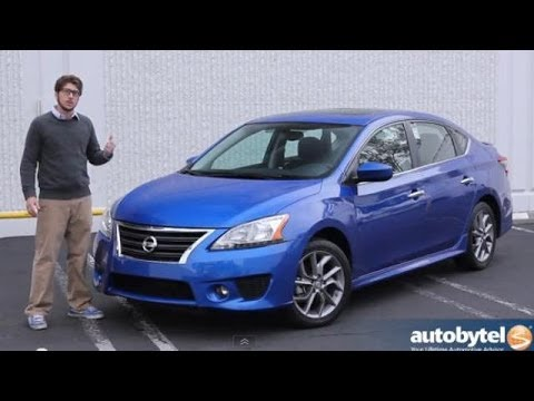 2014 Nissan Sentra SR Compact Car Video Review