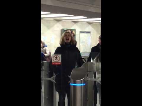 Экзорцизм в Московском метро на станции Тульской