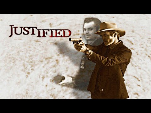 Every Time Raylan Givens Shot Someone (Nearly) || Justified Shootout Scenes