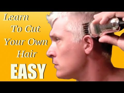 self cutting - If you are looking to get really good at cutting your own hair, and would like to save some money, this tutorial may be for you.