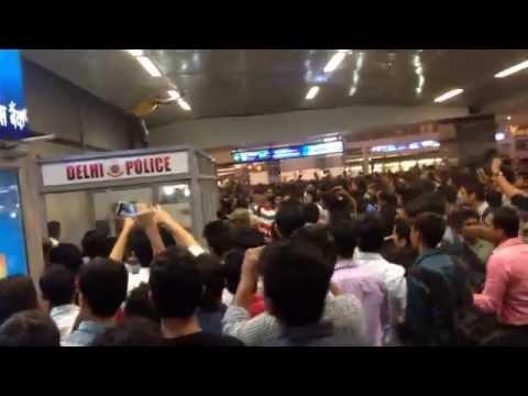 Inde : 3 étudiants africains échappent au lynchage dans le métro de New Delhi