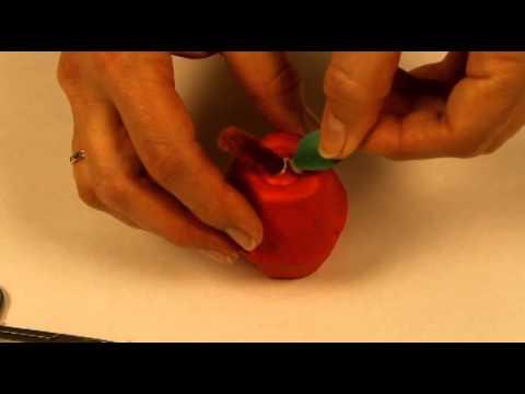Bricolage sur la pomme pour les enfants