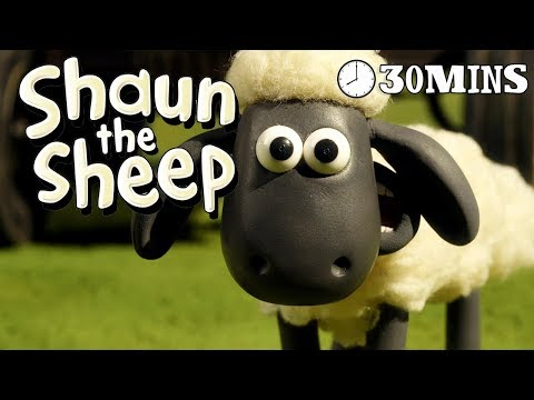 Shaun the Sheep - Season 3 - Episodes 6-10 [30 MINS]