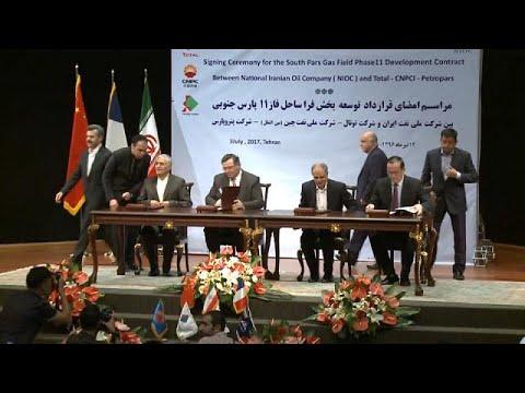 Συμφωνία «μαμούθ» μεταξύ Ιράν και Total – corporate
