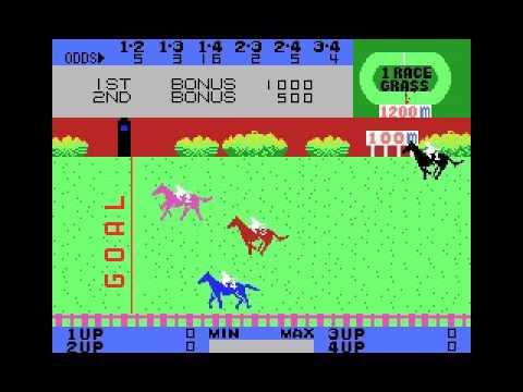 Exciting Jockey (1984, MSX, Casio)