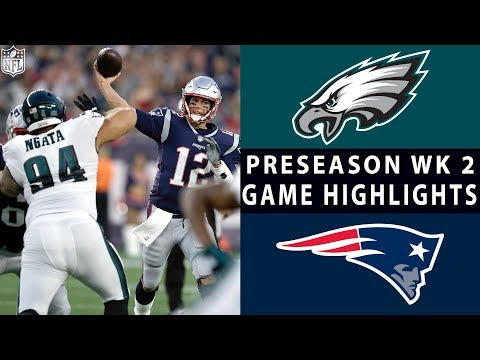 Eagles vs. Patriots Highlights | NFL 2018 Preseason Week 2 (видео)