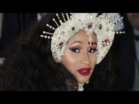 Nicki Minaj Disses Cardi B At Met Gala 2018   Hollywoodlife
