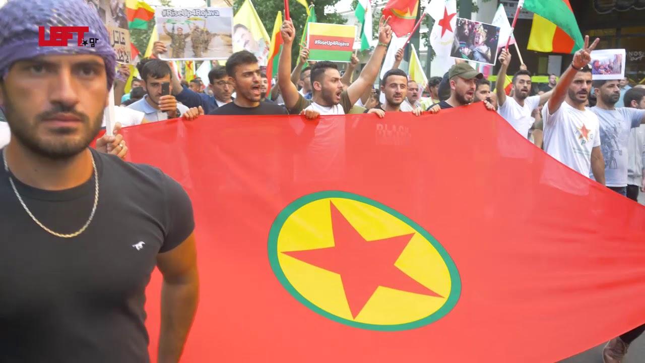 Αντιπολεμική διαδήλωση Κούρδων & αλληλέγγυων