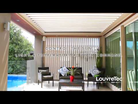 Louvretec Opening Roofs and Sun Louvres TVC