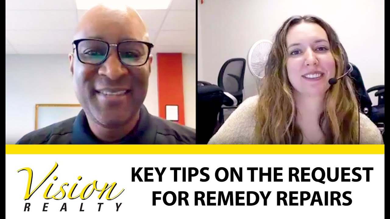 What Buyers Should Know About the Request for Remedy Repairs