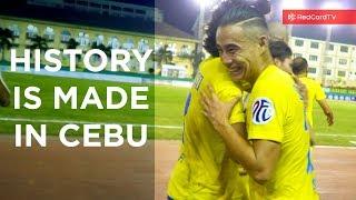 Video History Made in Cebu. Global Cebu vs Ceres Negros Matchday vlog MP3, 3GP, MP4, WEBM, AVI, FLV Juli 2018