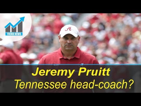 Tennessee set to hire Alabama DC Jeremy Pruitt for head-coaching job,sources say